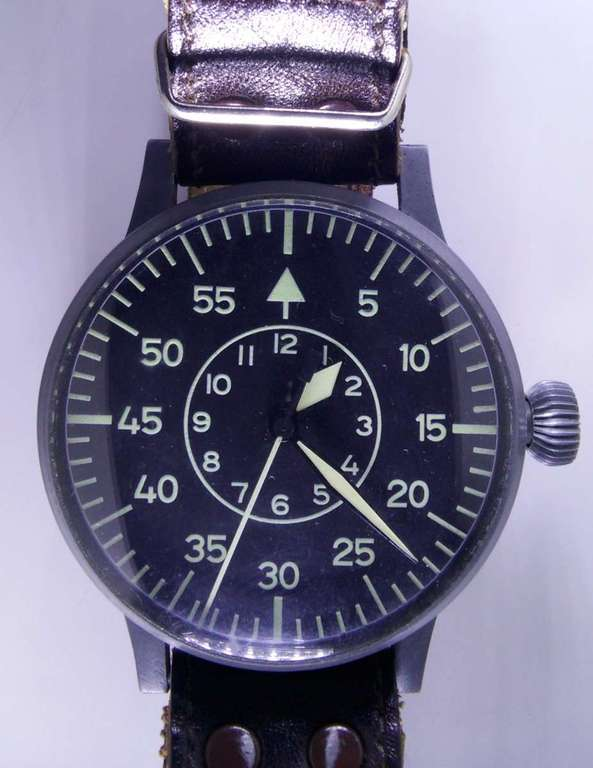 Вид спереди -  Laco Aviator Observation Watch 55mm